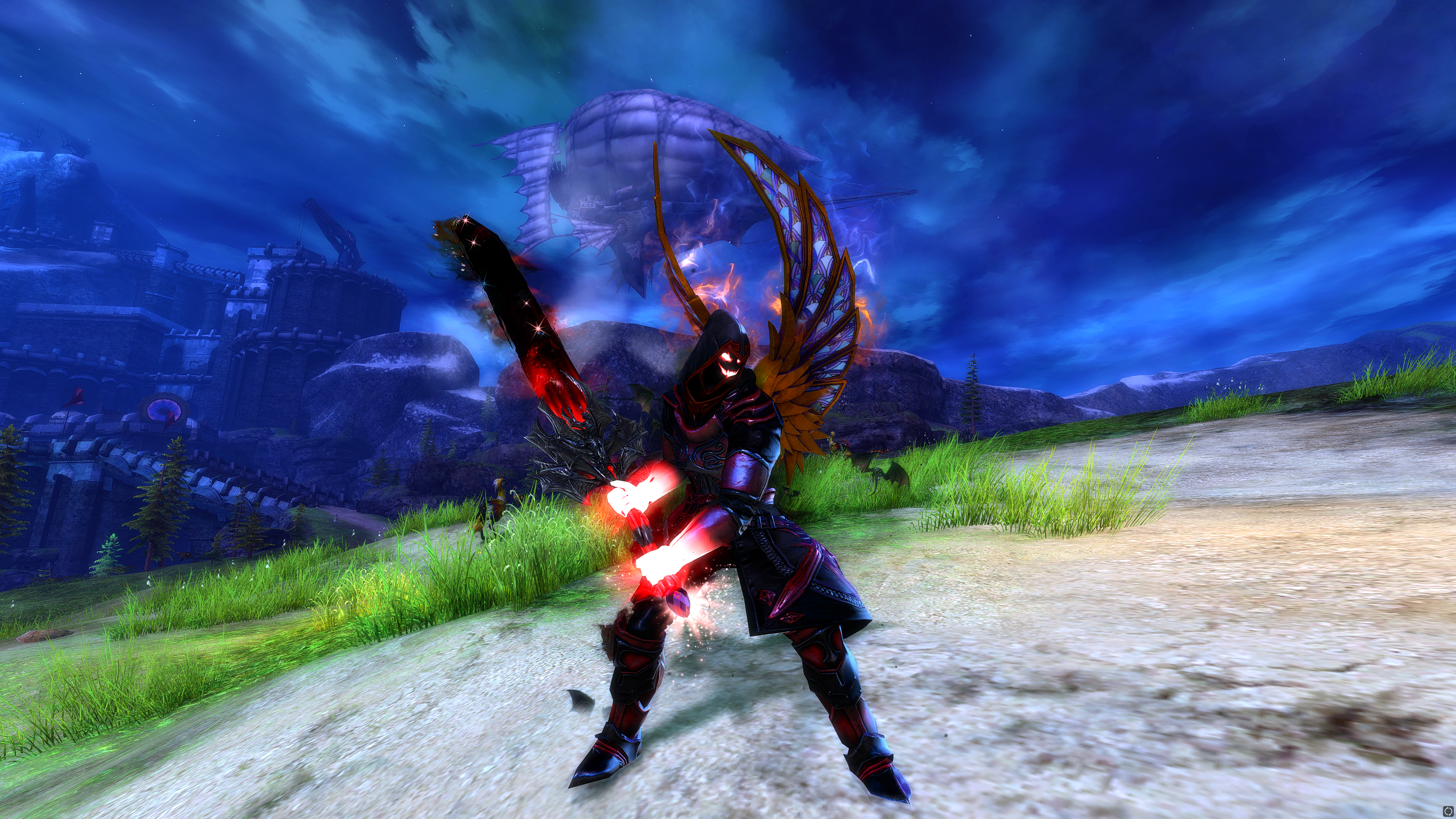 Guild Wars 2 Warrior With New Wings - Member's Gallery